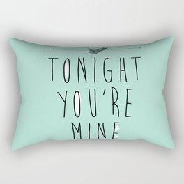 Tonight you're Mine! Rectangular Pillow