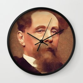 Charles Dickens, Literary Legend Wall Clock