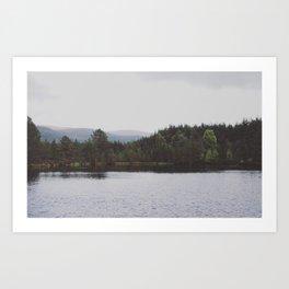 Lake of mirrors Art Print