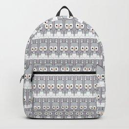 Silver Grey Bunny Rabbit - Super Cute Animals Backpack