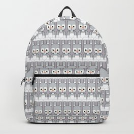Silver Grey Bunny Rabbit - Super Cute Animals Backpack