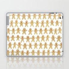 Gingerbread people Laptop & iPad Skin