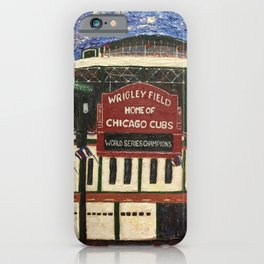 Cubs Win!! iPhone Case