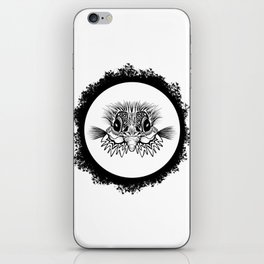 Half Bird iPhone Skin