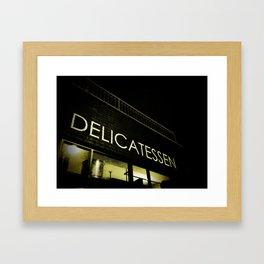 Delicatessen Framed Art Print