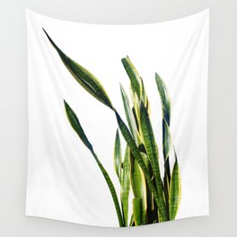 Snake Plant Wall Tapestry