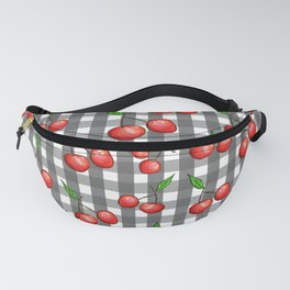 Gingham: Cherry Fanny Pack