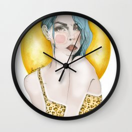 leogirl Wall Clock