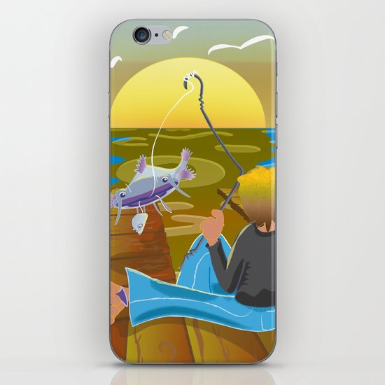 Fish Tales iPhone & iPod Skin