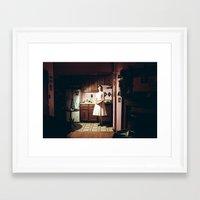 pie Framed Art Prints featuring Pie by Kelsey Bennett
