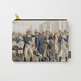 Washington's Farewell to Officers by H.A. Ogden (1893) Carry-All Pouch