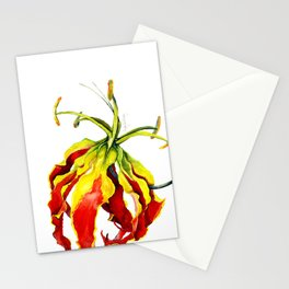 Gloriosa Lily Stationery Cards
