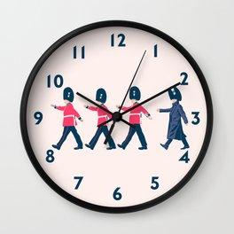 Off Guard Wall Clock