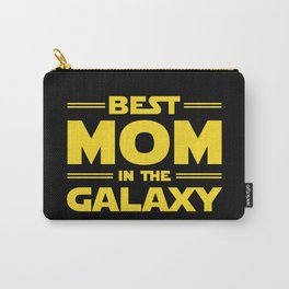 Best Mom in the Galaxy Carry-All Pouch