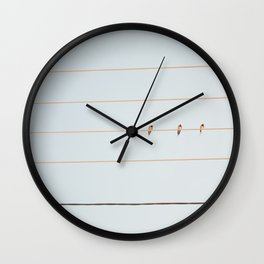 The Three Wall Clock