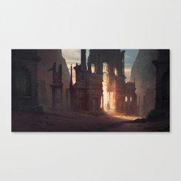 Broken Gate Canvas Print