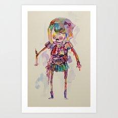guts Art Print