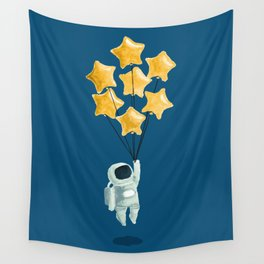 Astronaut's dream Wall Tapestry