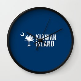 Kiawah Island, South Carolina Wall Clock
