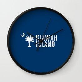 Kiawah Island, South Carolina Wall Clock