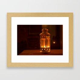 By Lamplight Framed Art Print