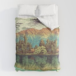 The Unknown Hills in Kamakura Comforters