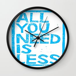 All You Need Is Less Wall Clock