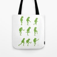 muppet Tote Bags featuring Ministry of Silly Muppet Walks by 6amcrisis