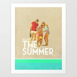 For The Summer Art Print