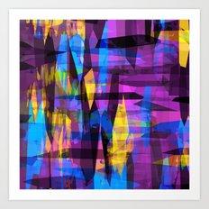 Colorreaction Art Print