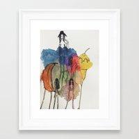 community Framed Art Prints featuring Community by GretchenAnn
