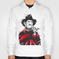 freddy krueger Hoodies featuring Freddy by Akyanyme