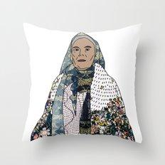No Ban No Wall   Art Series - The Jewish Diaspora 008 Throw Pillow