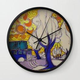 VIA DI  FUGA Wall Clock
