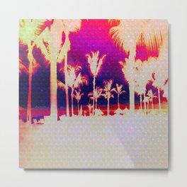Tropical View Metal Print