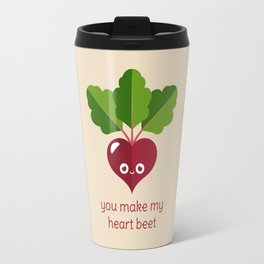 You Make My Heart Beet Travel Mug