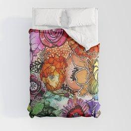 Razzle D Floral Comforters