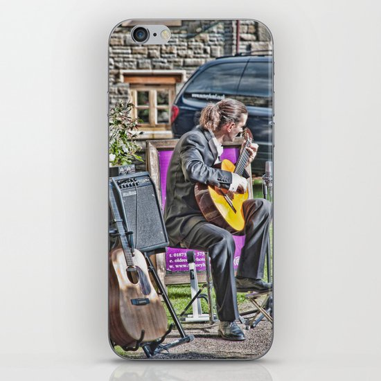 While My Guitar Gently Weeps 2 iPhone & iPod Skin