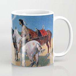 "Frederic Remington Western Art ""Smoke Signals"" Coffee Mug"