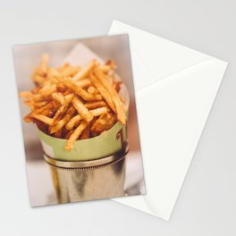 Fries in French Quarter, New Orleans Stationery Cards