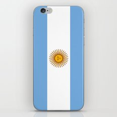 Flag Of Argentina iPhone & iPod Skin