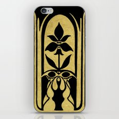 Golden Symmetry 2 iPhone Skin