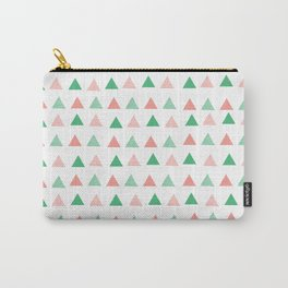 Bouncy Triangles // Pattern Art Carry-All Pouch
