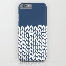 Half Knit Navy iPhone 6s Slim Case