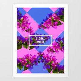 Floral Mood Art Print