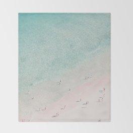beach - summer of love III Throw Blanket