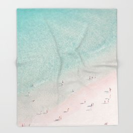 beach - summer of love III Throw Blanket