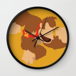 Donkey Kong(Smash) Wall Clock