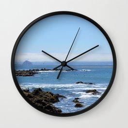 Morro Bay Tide Pool Wall Clock