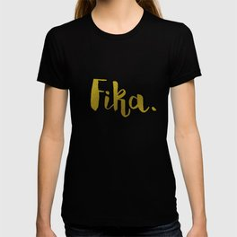 Golden fika T-shirt